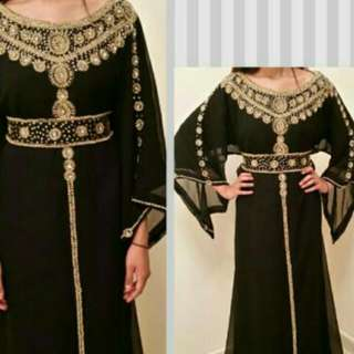 Arabian style long kaftan