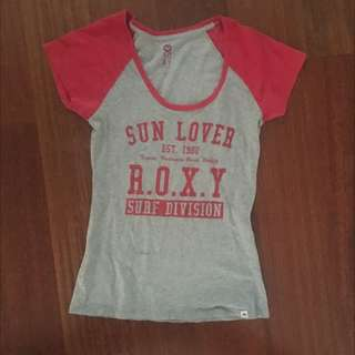 Red Roxy Top