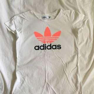 Adidas Original White Tee