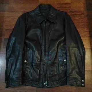 Hugo Boss Original Leather Jacket For Men