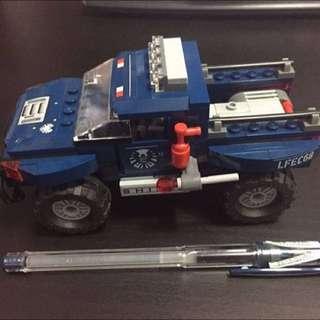 Lego 6867 Marvel 神盾局車仔