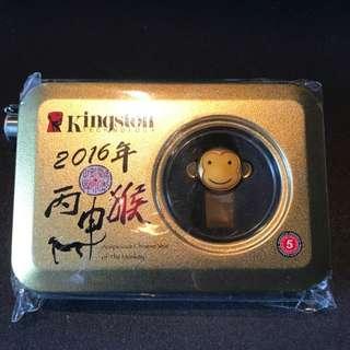 Kingston金士頓32G USB 3.0高速隨身碟 猴子紀念版