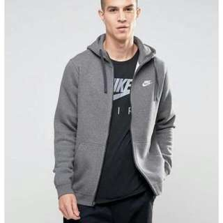 Nike Club Hoodie In Grey 連帽外套