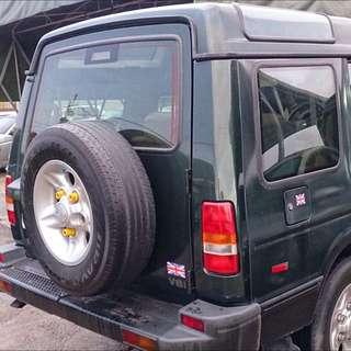 Land Rover Discovery 1 V8 3950 1998年2月出廠
