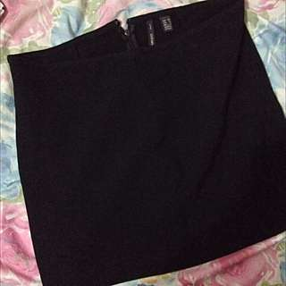 Mango Pencil Skirt (black)