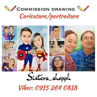 Caricature/Portraiture Traditional Drawing