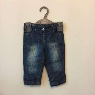 嬰幼兒牛仔長褲6~9M