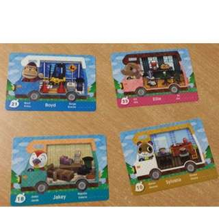 Animal Crossing Amiibo Cards Series 5