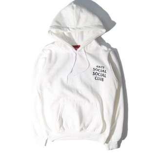 ASSC White/Light Pink Hoodie