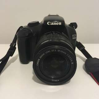 Canon 1100d DSLR camera