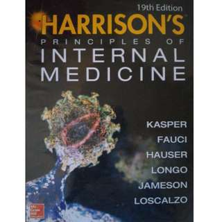 Harrison's Principles of Internal Medicine 19th ed