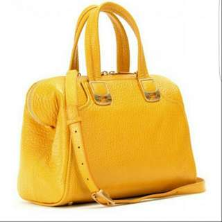 Fendi Chameleon Duffle Bag Yellow