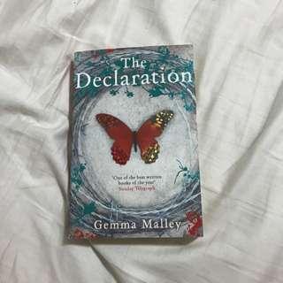 The Declaration - Gemma Malley