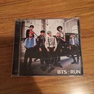 BTS Japanese Single 'Run'