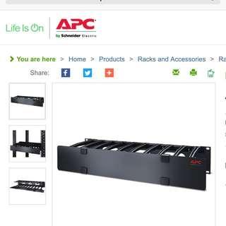 APC Horizontal 2U Cable Manager AR8606