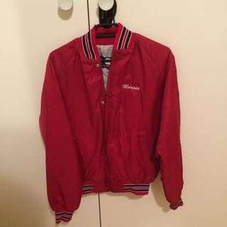 Vintage Red Cheerleader Varsity Jacket (USA)