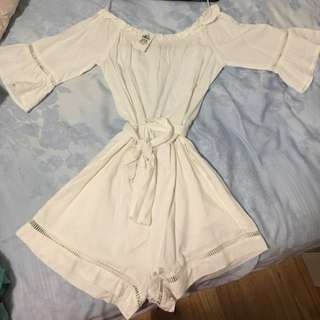 Brand New Off The Shoulder Playsuit