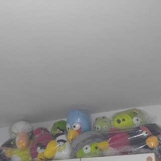 Angry Bird 13隻$350, 單售$40一隻
