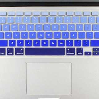 Blue Ombre Macbook Keyboard Protector