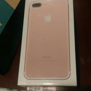 (全新9折)iPhone 7 plus 32g-未拆封