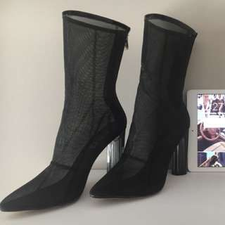 Ego Official Yeezy Inspired Mesh Boots