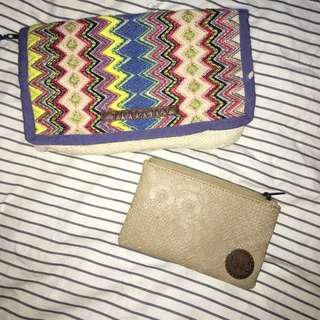 Tigerlily And Billabong Clutches
