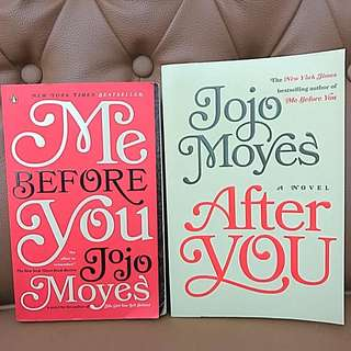 "Import: ""Me Before You"" & ""After You"" (Jojo Moyes)"