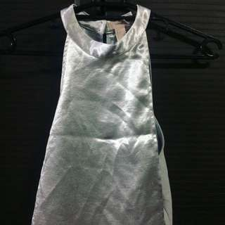 Forever21 Silver Top
