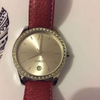 Mimco Pink Watch