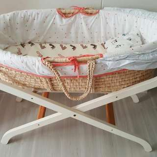 Preloved Mothercare Bassinet