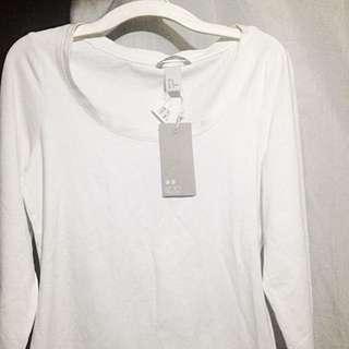 H&M White Sleeves