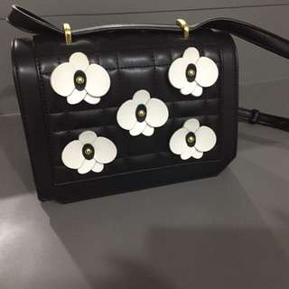 Lily Leather Crossbody Bag