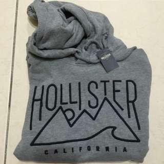 降!✨全新美國帶回!全新Hollister 長袖超保暖帽T