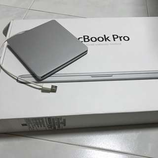 Wts Portable Dvd Drive With Spoiled Macbook Pro 15in.