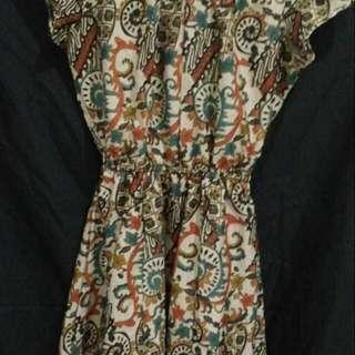 Batik Dress All Size
