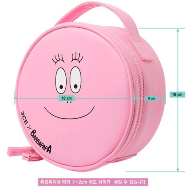 3CE×泡泡先生手提化妝包