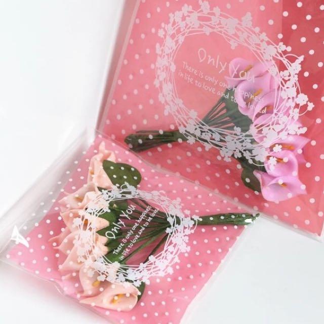 自黏袋/餅乾袋/糖果袋/手作/婚禮小物/禮物袋/飾品袋