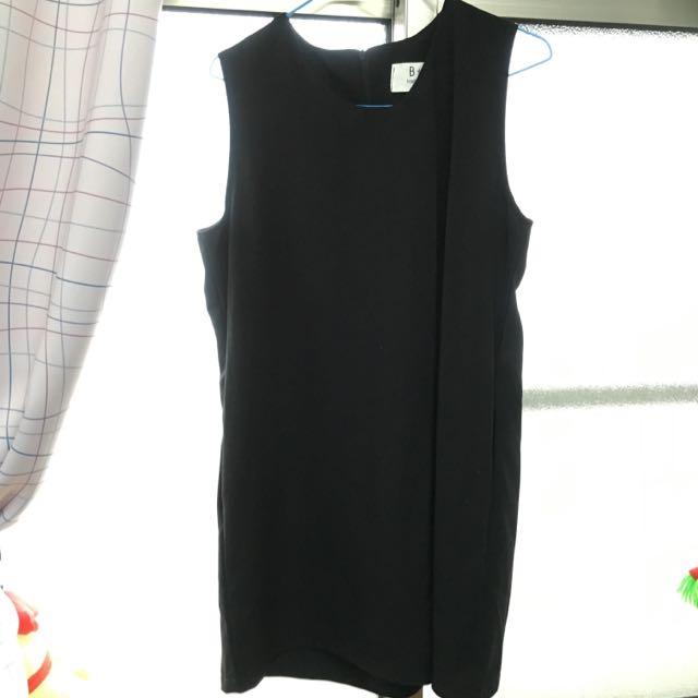 全新連身褲裙-黑色