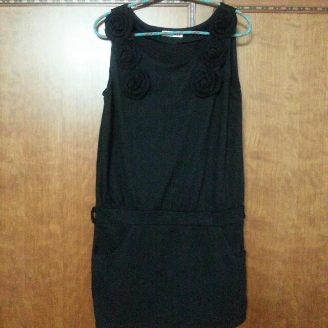 造型 背心 長版洋裝