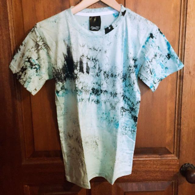 __BrandNew__ Blue Pomo Ink T-shirt