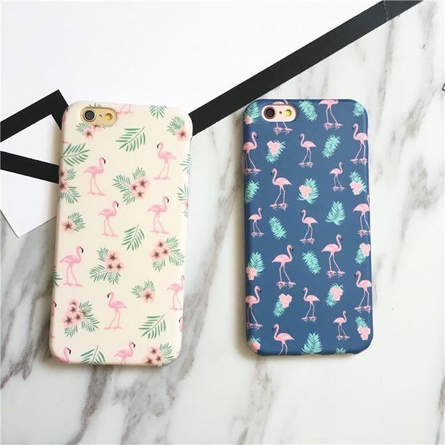 現貨 韓風 iphone7&7Plus 火鳥/紅鶴 矽膠全包軟殼