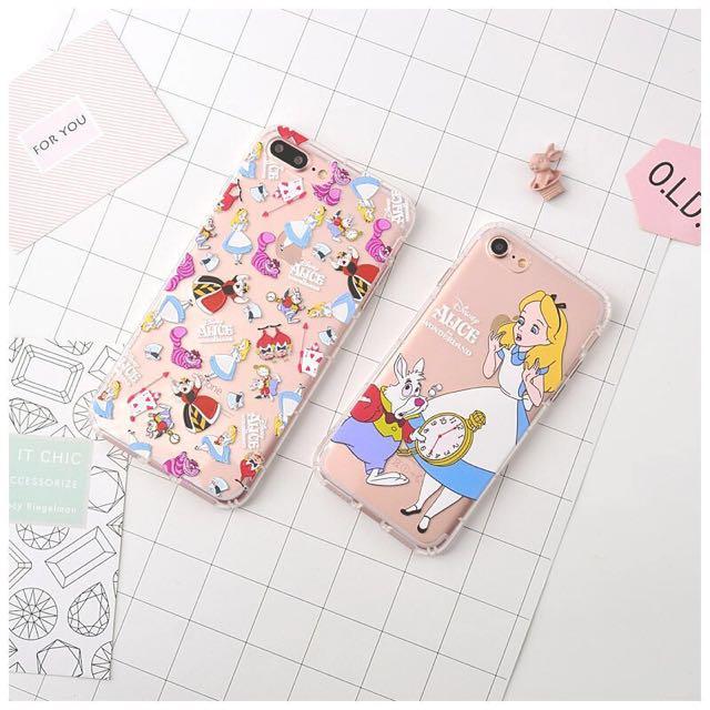 現貨 iPhone7系列  愛麗絲夢遊仙境 氣墊空壓殼