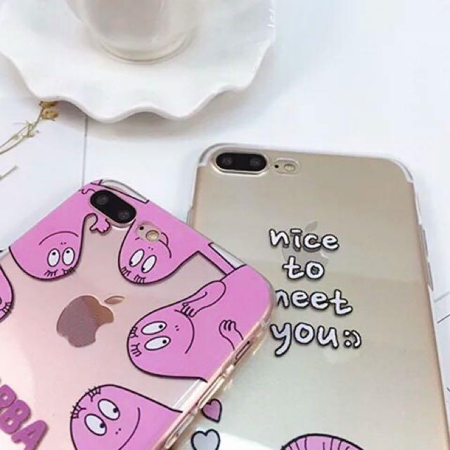 現貨 iPhone7系列  泡泡先生們 TPU全包邊手機殼