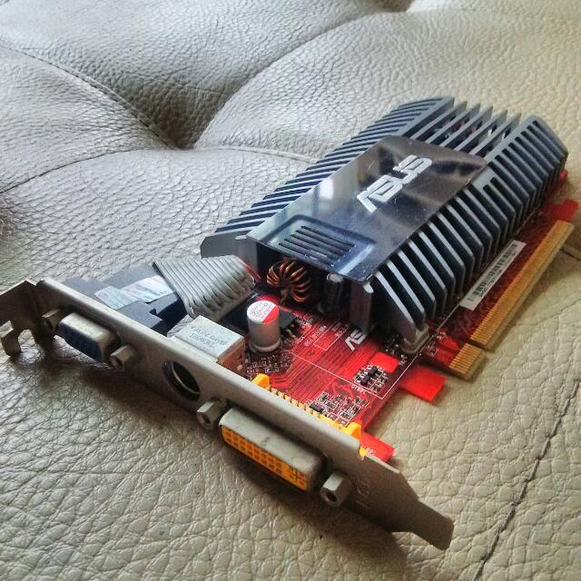華碩 PCI-E 顯示卡 HD3450 256M