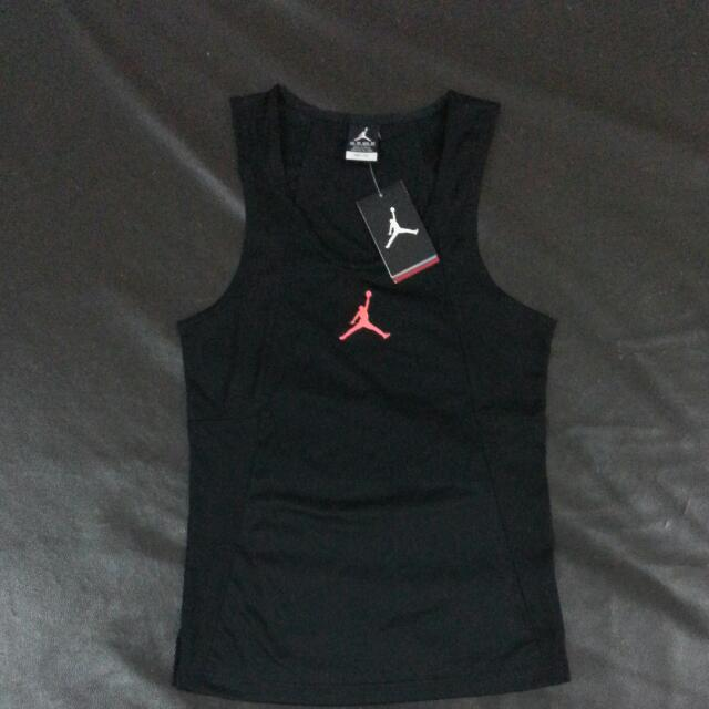 finest selection b3022 43130 ... Air Jordan Men Basketball Singlet, Sports, Sports Apparel on Carousell  ...