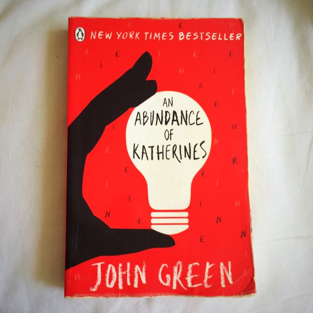 An Abundance Of Katherine's By John Green