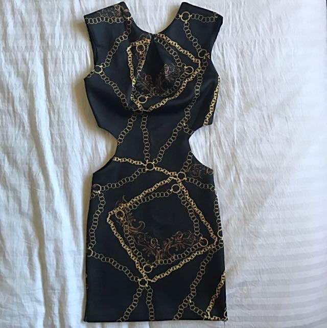 ASOS Petite Cut Out Dress AU4-6