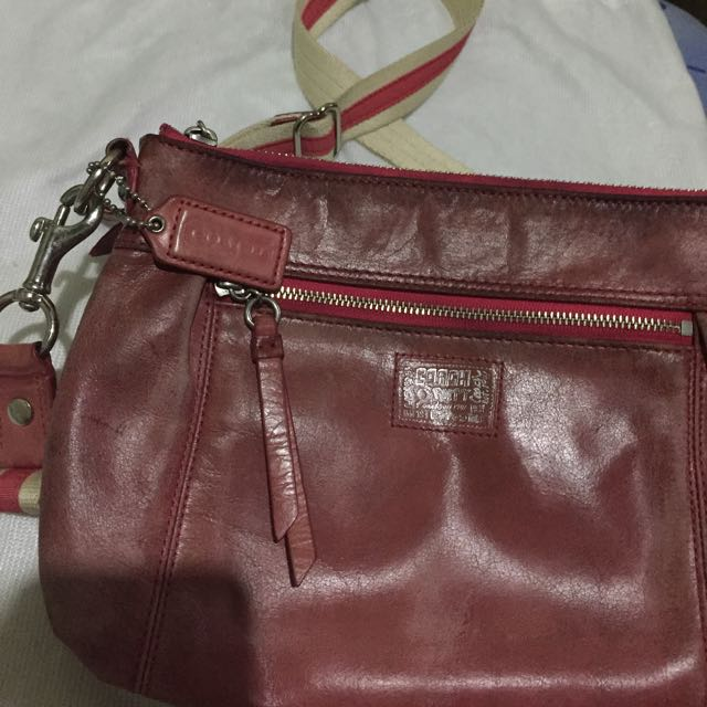 4e420db6ae ... canada authentic coach poppy sling bag preloved womens fashion bags  wallets on carousell 8bf4a d397a