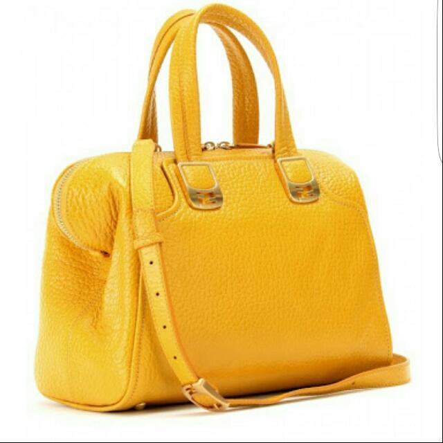 Fendi Chameleon Duffle Bag Yellow