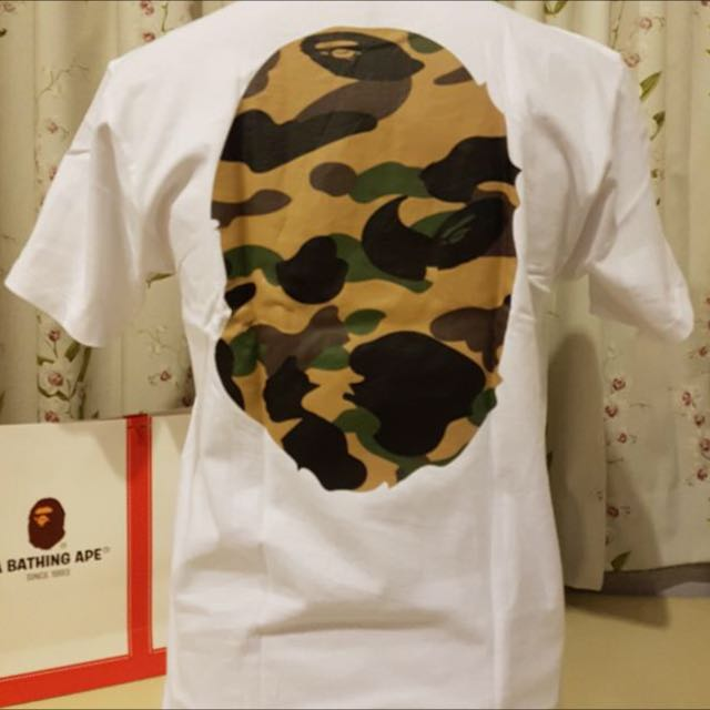BAPE Large Head Camo Tee
